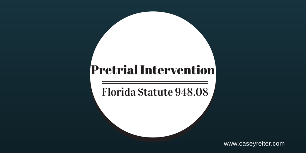 Diversion Program – Florida Criminal & Family Law
