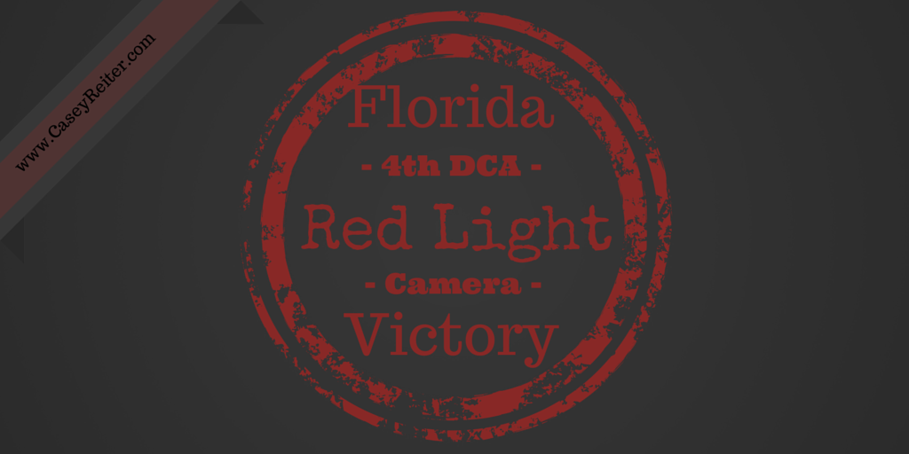 A Significant Ruling From The Fourth District Court Of Appeal This Week May  Have A Large Impact On The Red Light Cameras, Not Only In Broward And Palm  Beach ...